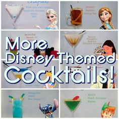 More Disney Themed Cocktails | Cocktails by Cody |
