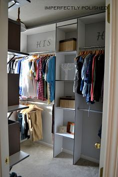 1000 images about his hers on pinterest bathroom for His and hers closet