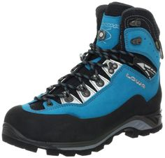Lowa Women's Cevedale Pro GTX WS Hiking Boot *** Check this awesome product by going to the link at the image. (This is an affiliate link) Trekking Outfit, Trekking Gear, Trekking Shoes, Hiking Shoes, Hiking Boots Women, Men Hiking, Hiking Boot Reviews, Caterpillar Boots, Walking Boots