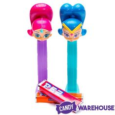 Shimmer and Shine PEZ Candy Packs: Display Frozen Gift Bags, Shimmer Y Shine, Doc Mcstuffins Toys, Kids Bed Design, Baby Girl Car, Dad Crafts, Electric Scooter For Kids, Cute Doodle Art, 6th Birthday Parties