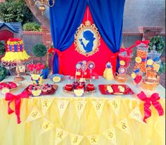 Snow White Theme? So cute!!!!