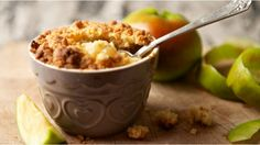 Easy apple crumble in less than an hour...