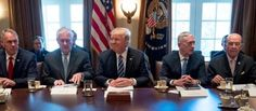 Trump warns Floridians to 'Get out now' President tells people of Florida that their lives are not 'replaceable'; met with Cabinet.