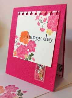 Hello Darling {Birthdays are Better with Sequins} Stampin Up 2014 with Inkypinkies
