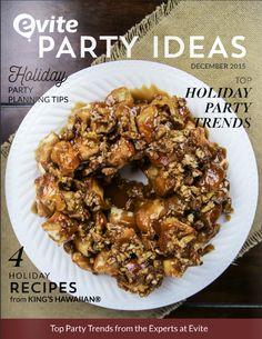 4 Holiday Recipes from King's Hawaiian - http://lynk.to/NWVNJ #HostWithKH #ad