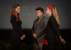 Hilary Swank Presents Awards to Young Animal Advocates