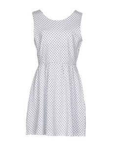 SUN 68 Women's Short dress White L INT