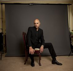 Mark Strong | Flickr - Photo Sharing! Such long legs!