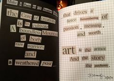 """""""Completed my first journal page ☺️ Journal Pages, Journals, Artist Journal, Creativity Quotes, Wreck This Journal, Art Journal Inspiration, Making Out, Inspire Me, Art Quotes"""