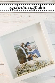 Make a meaningful and fun graduation gift with this idea from Everyday Party Magazine #SVG #GraduationGift #Graduate