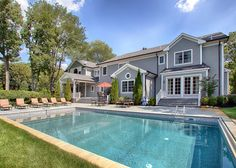 Kevin Jonas Just Listed His Stunning New Jersey Mansion for $2.3 Million—See Inside! - The Pool from InStyle.com