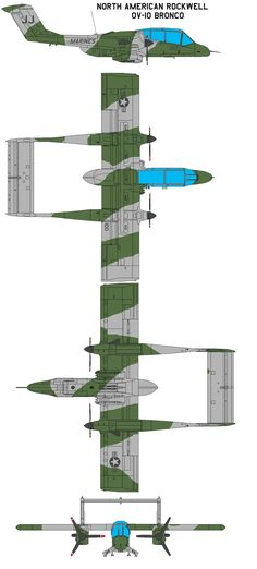 North American Rockwell OV-10 by bagera3005 on DeviantArt