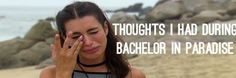 145 Thoughts I Had While Watching Bachelor in Paradise, Week 5 - That's Normal