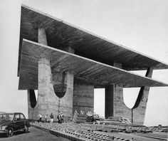 Brasília TV tower by Oscar Niemeyer (1967)