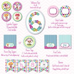 lalaloopsy printable party package