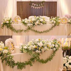 結婚披露宴の〔ナチュラル可愛い〕高砂イメージ10選 | marry[マリー]