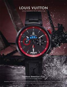 Louis Vuitton Tambour Regate Special America's Cup