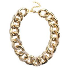 Pave Link Necklace $50 @ Lydell NYC