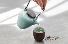 Handmade in Longquan Set of celadon teaware/ tea set/ 1 Chinese Tea, Chinese Style, Tea Canisters, Tea Caddy, Jar Storage, Raw Materials, Purple Gold, Teacups, Drinking Tea