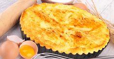 Recette de Quiche fine ligne au saumon et curcuma sans pâte. Facile et rapide à réaliser, goûteuse et diététique.
