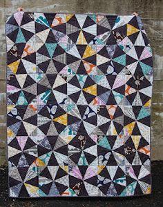 Kaleidoscope Quilt from Cassie Crafties.