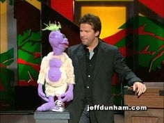 """A clip of Jeff Dunham and Peanut from Jeff's classic stand-up special and DVD, """"Spark of Insanity"""". This summer, the guys and I will be at Caesars Palace in . Funny As Hell, Haha Funny, Hilarious, Jeff Dunham Videos, Jeff Dunham Peanut, Jeff Dunham Achmed, Live Comedy, Fantasy Comics, Movies Worth Watching"""