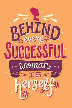 27e7a0ec4 Successful Woman Canvas Art Print by Risa Rodil. Disney QuotesInternational  Womens Day ...