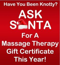 Ask Santa this Year..#Spa #Gift the #Best for #Relaxation !
