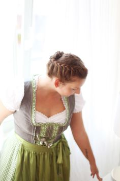 Nice Hairstyle #hairstyle #diy #oktoberfest #dirndl #frisur #flechtfrisur #braidedhair