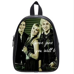 Large Size R5 Loud Ross Lynch Backpack Custom High School Students Backpack for Travel or Party -- Learn more by visiting the image link-affiliate link.