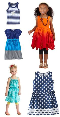 {Love these outfits} Rocking Summer Style from Fab Kids