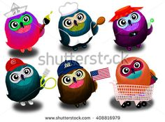 Find animal stock images in HD and millions of other royalty-free stock photos, illustrations and vectors in the Shutterstock collection. Thousands of new, high-quality pictures added every day. Owl Illustration, Cute Owl, Animals Images, Piggy Bank, Fun Activities, Minions, Royalty Free Stock Photos, Pictures, Art
