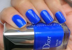 Dior Vernis Limited Edition Transat Collection in Sailor