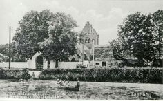 Tårnby Kirke ca. 1900
