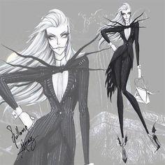 E se Tim Burton invadisse as passarelas de moda? Artista reinventa figurinos dos…