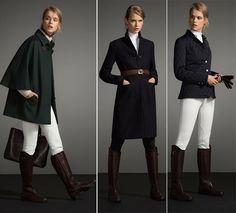 Massimo Dutti Equestrian Fall/Winter 2014-2015 Lookbook