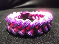 Paracord, bracelet Menphis Weavy loops (tuto francais)