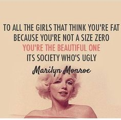 Love Marilyn! She's one of my idols