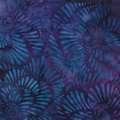 One of my favorite dark blenders:  Xanadu Batik by Moda Fabrics, Evening.  Always try to keep this in stock
