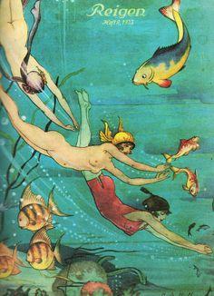 Ilustração por por Hahn c. 1923