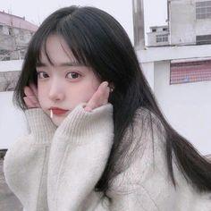 Do you trust me ? Korean Girl Ulzzang, Pelo Ulzzang, Ulzzang Girl Fashion, Woman Fashion, Fashion Photo, Pretty Korean Girls, Korean Beauty Girls, Cute Korean Girl, Asian Girl