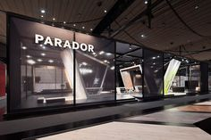 Parador | Domotex 2014 in Hannover on Behance