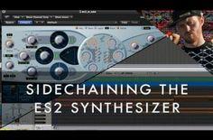 Logic Video Tutorial: Sidechaining the ES2 Synthesizer – 'Secret Knowledge' w/ Matt Shadetek Pt 5
