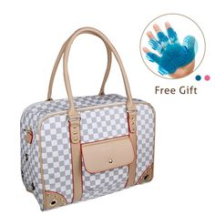 Dog Travel Bag, Enk Portable Comfort Sided Dog Travel Tote, Washable Dog and Cat Carry Bag for Outdoor Travel, Heavy Duty Airline Approved Pet Carriers -- To view further for this item, visit the image link. (This is an affiliate link and I receive a commission for the sales)