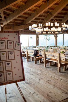 Wedding Reception in a Mountain Lodge Overlooking the Mountain Lodge   Wedding Memories   See More! http://heyweddinglady.com/alpine-wedding-in-austria-from-wedding-memories/