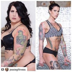 IG InspirWeighTion via @jessiegfitness �Visit TheWeighWeWere.com to read full weight loss stories!�