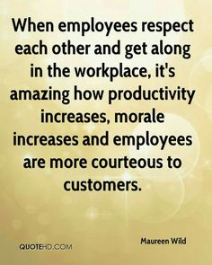 When employees respect each other and get along in the workplace, it's amazing how productivity increases, morale increases and employees are more courteous to customers. Check out this offer for a faxmachine trial account! Respect Quotes, Teamwork Quotes, Leadership Quotes, Team Leader Quotes, Leadership Activities, Workplace Motivation, Work Motivation, Motivation Quotes, Motivational Quotes For Workplace