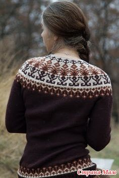 Ravelry: Distant shores pattern by Iaroslava Rud Fair Isle Knitting Patterns, Fair Isle Pattern, Knitting Kits, Knitting Designs, Knit Patterns, Lucy Fashion, Icelandic Sweaters, How To Purl Knit, Crochet Clothes