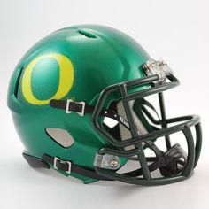 Riddell Oregon Ducks Revolution Speed Mini Replica Helmet, Multicolor