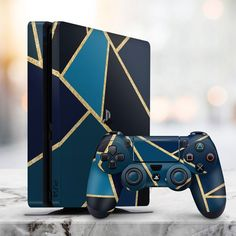 We're giving away a free Sony PS5 to 100 lucky winners Entering to win easy – just use the giveaway tool provided below Ps4 Controller Custom, Newest Playstation, Custom Consoles, Mundo Dos Games, Destiny Game, Ps4 Skins, Video Game Rooms, Videogames, Game Room Decor